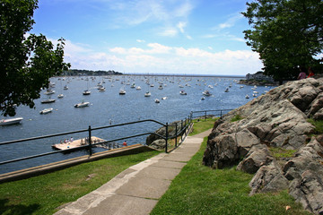 boating on marblehead