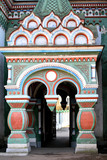 russian orthodox church entrance poster