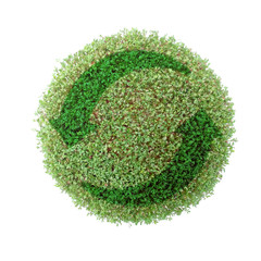 green globe recycle