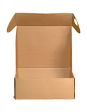 opened cardboard box poster