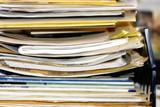 big pile of paperwork poster