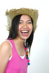 young asian woman (serise)