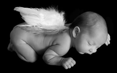angelic infant sleeping