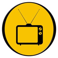 vintage tv icon