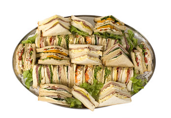 sandwich catering platter