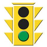 semaforo verde poster