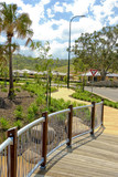 landscaping,pathways and new residental development poster