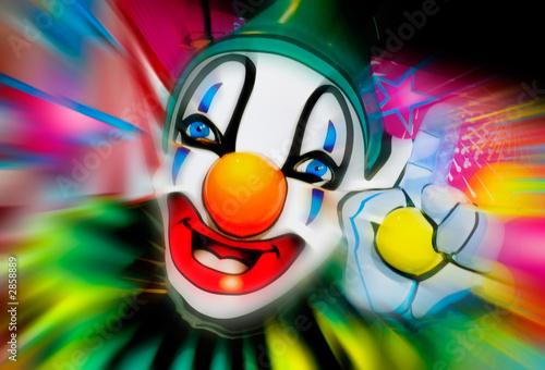 Fototapete Auftritt - Zirkus - Clown - Poster - Aufkleber