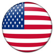 usa united states button