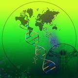 world genetics poster