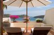 balcony with seaview
