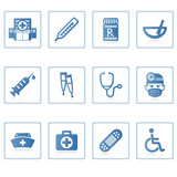 web icons : healthcare and medical poster