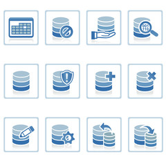 web icons : database management