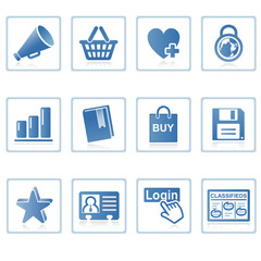 web icons : internet and website i
