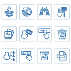 web icons : internet and website ii