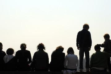 people looking