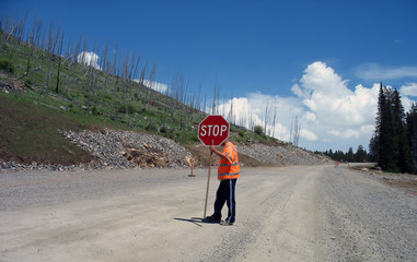 yellowstone road works