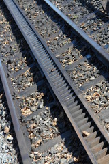 antique train tracks