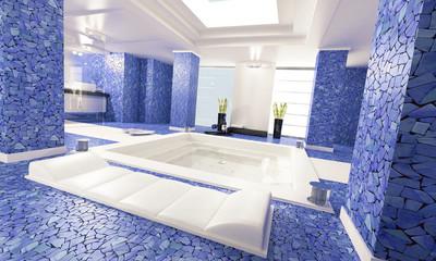bathroom blue 1