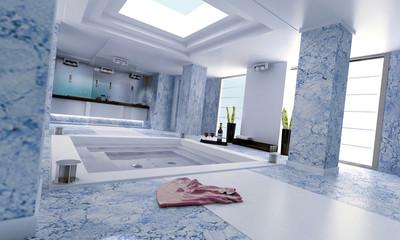 bathroom blue 2