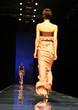 asian model on the catwalk