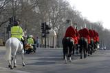 london horse guard parade #1 poster