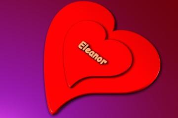 eleanor - herz in 3d gerendert (liebe)