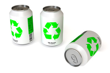 recycled can