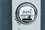 electric meter poster