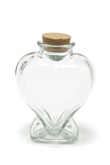 heart shape bottle