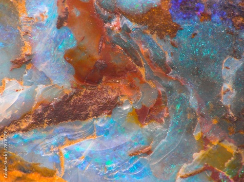 Canvas Edelsteen opalescent gemstone texture