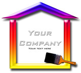 house painting company logo