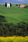 countryside in tuscane italy poster