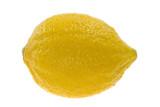 single whole lemon poster