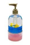 bottle of liquid soap poster
