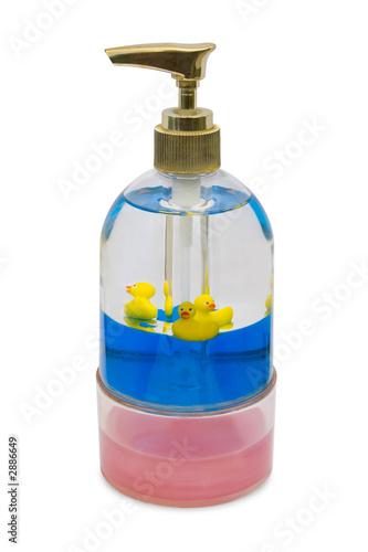 poster of bottle of liquid soap