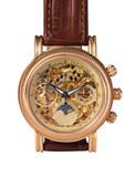 golden watch mechanism, macro detail poster
