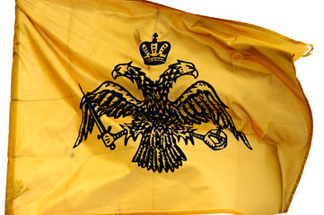orthodox monk`s republic agion oros flag