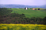 countryside in tuscany poster