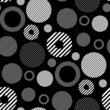 roleta: seamless retro wallpaper pattern
