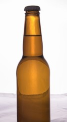 a brown bottle of beer