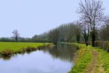 stratford upon avon canal warwickshire poster