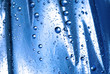 Leinwandbild Motiv blue drops