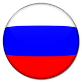 russland russia button poster