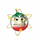 the bomb - atomic iran poster