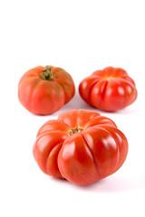 ripe tiger tomatoes