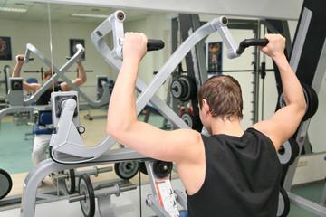 behind gym man 2