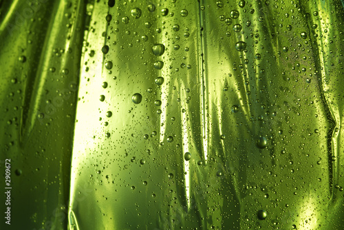 canvas print picture wet background with drops