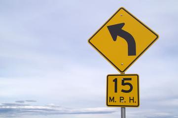 15 mph curve