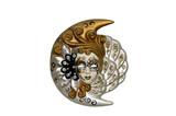 female venetian mask poster